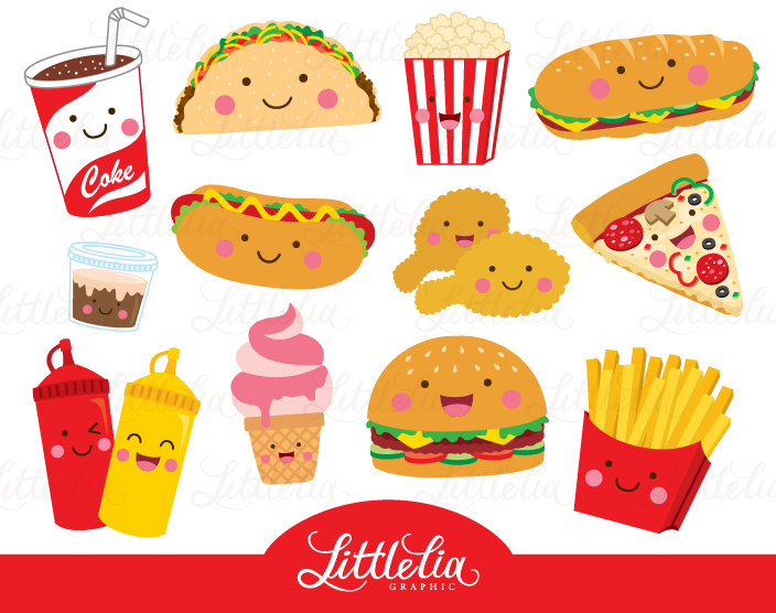 Hamburger clipart food item Collection food clipart Clipart food