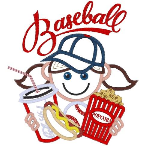 Baseball clipart food #2