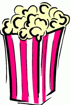 Popcorn clipart fair food Develop vector and  graphics