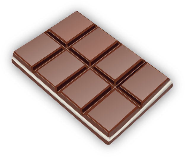 Candy Bar clipart transparent (PNG) MEDIUM IMAGE Chocolate Clipart