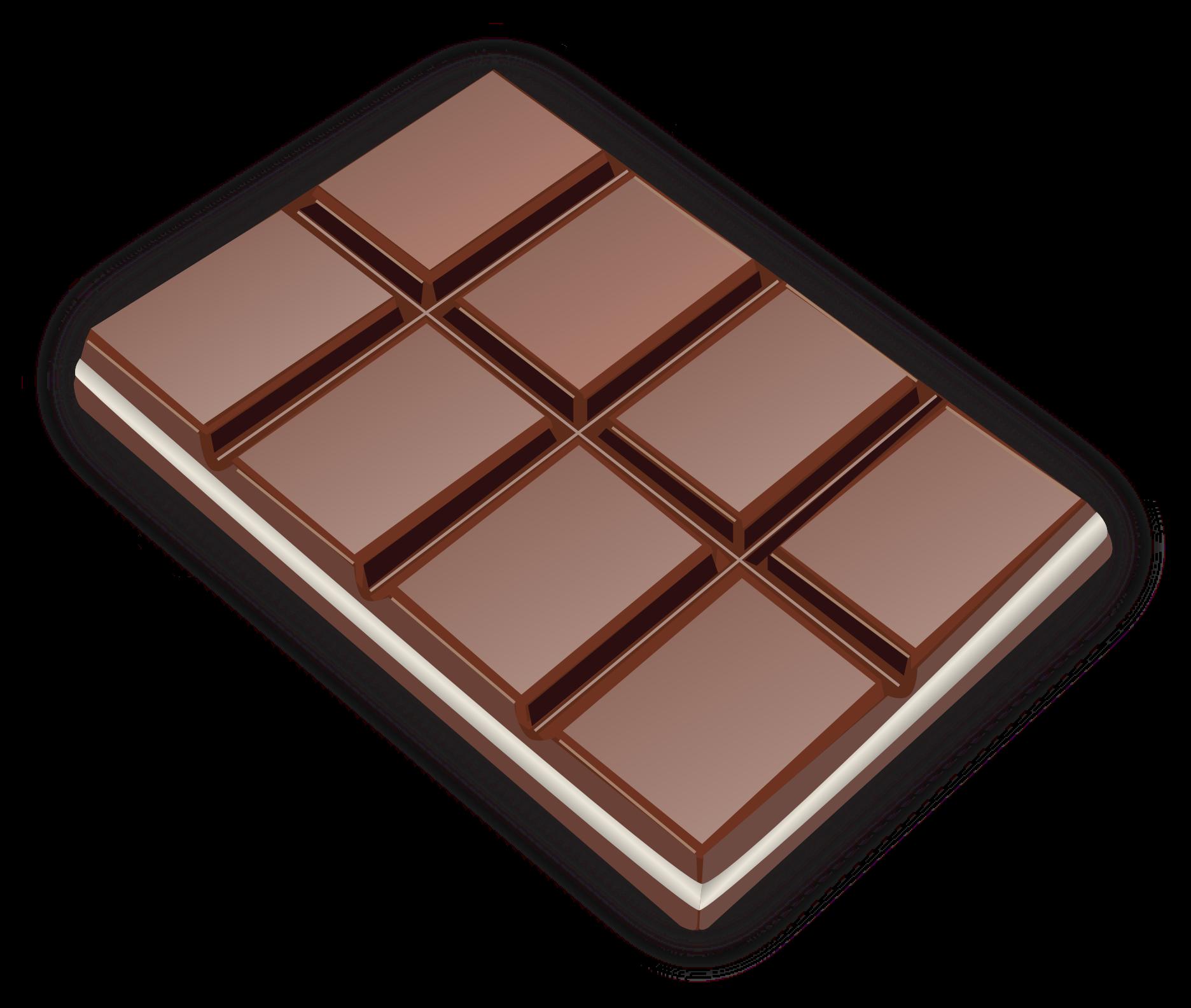 Pice clipart chocolate Chocolate Clipart bar Chocolate bar