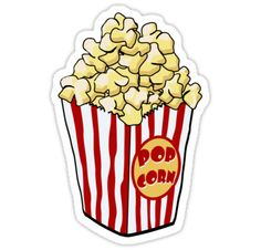 Carnival clipart popcorn container Art images free popcorn art