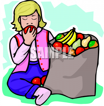 Snack clipart fruits and veggy Eating Picture Clip Picture Little