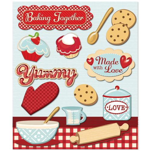 Snack clipart i love Together Little Epoxy 3 Accents
