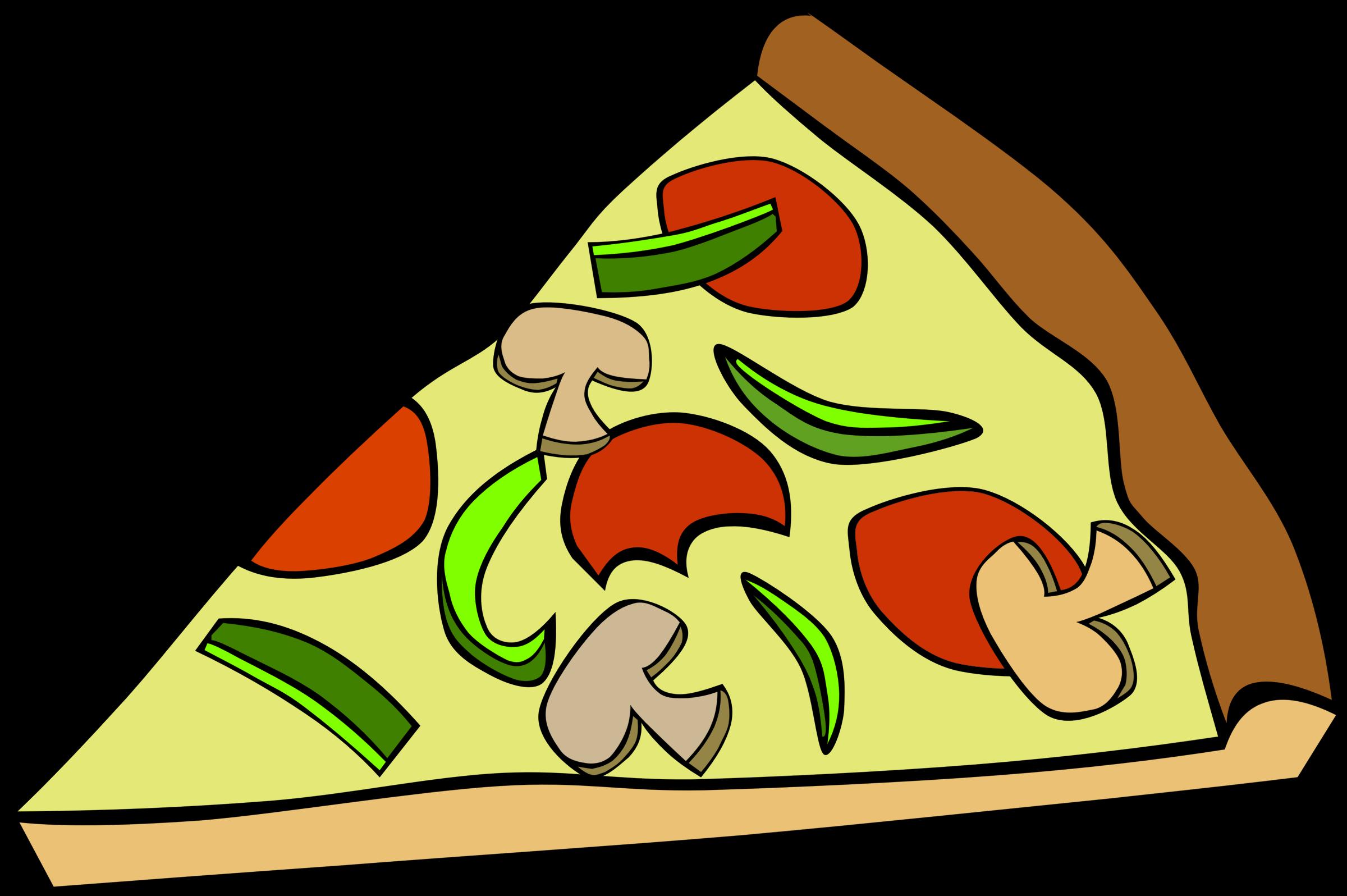 Pizza clipart junk food Fast Mushroom Pepperoni Fast Snack