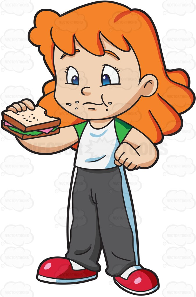 Sandwich clipart empty Collection clipart and A eating