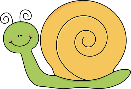 Mollusc clipart cartoon Snail Yellow Snail Clip and