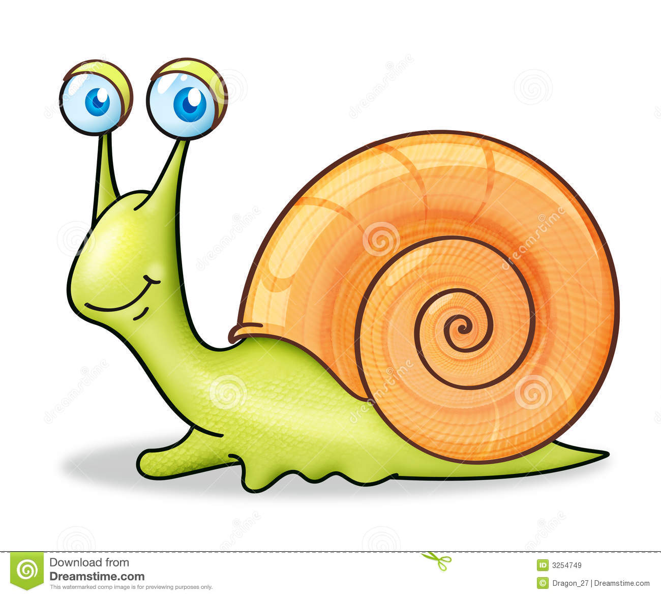 Mollusc clipart cartoon Art Clip pw Cartoon Clip