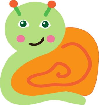 Snail clipart caterpillar  clip art Snail