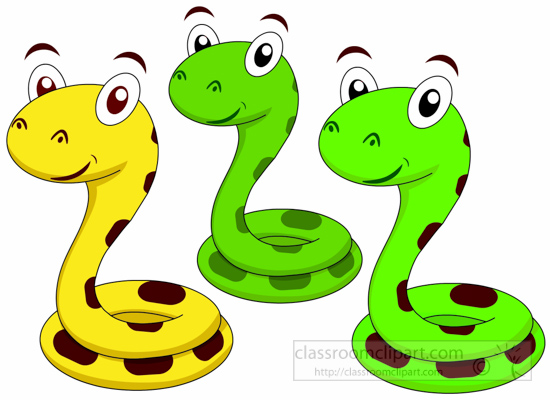 Tree Snake clipart cute baby snake #6