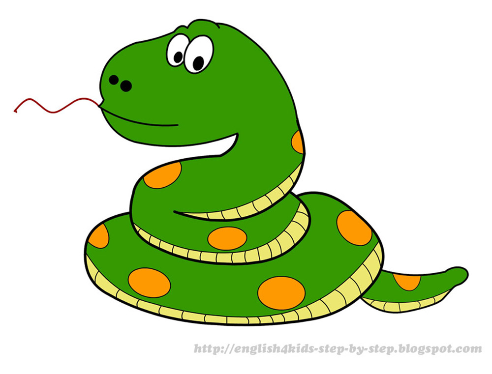Snake clipart Clipart Clipartix Pictures Cartoon snake