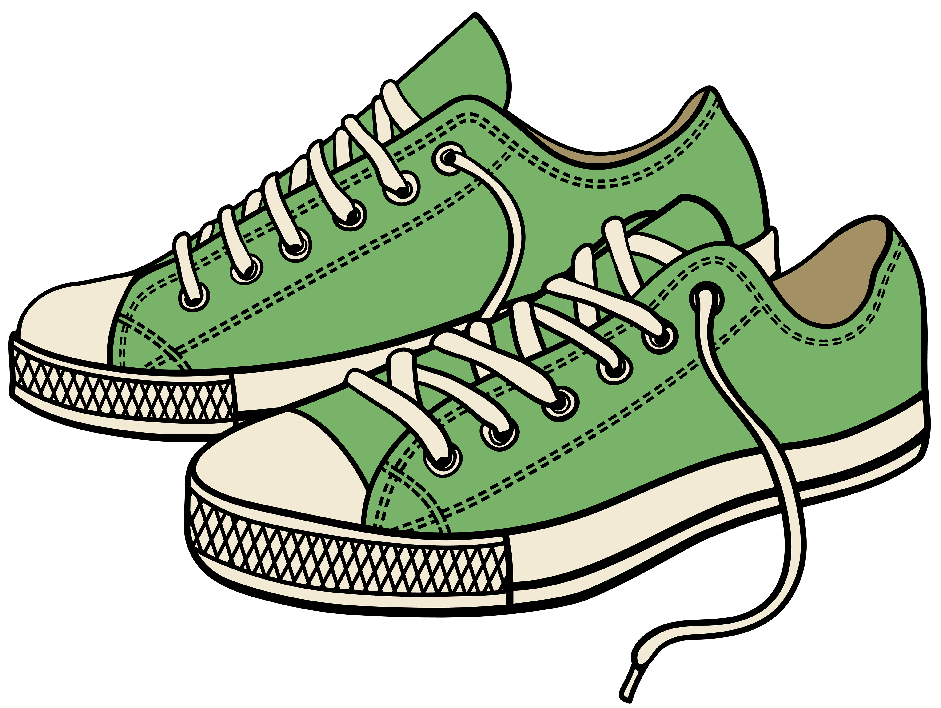 Sneakers clipart #12