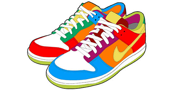 Gym-shoes clipart slipper Drawings Sneakers clipart Download clipart