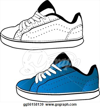 Gym-shoes clipart slipper Black running%20shoes%20clipart White Clipart Free