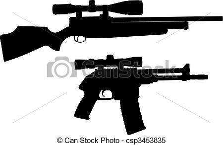Snipers clipart Of Vector csp3453835 of