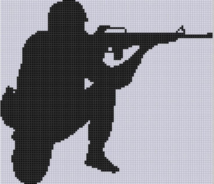 Sniper clipart american soldier Best silhouette Soldier 20+ Cross