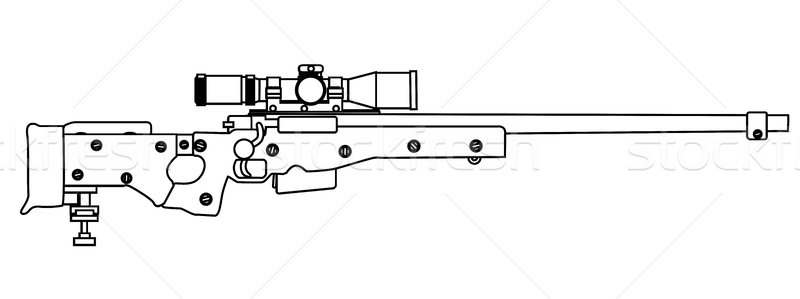 Sniper clipart army gun Download to Add Rifle Bigalbaloo