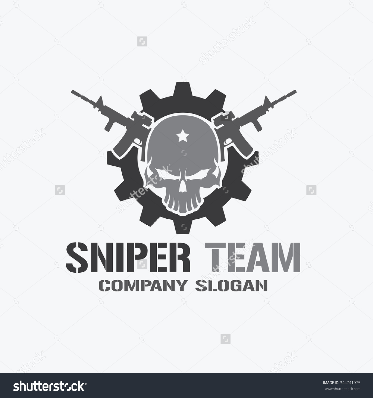 Snipers clipart skull Snipers ideas Pinterest Gaming Skousen