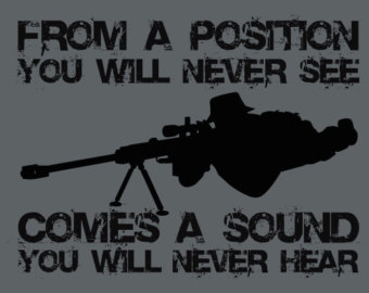 Sniper clipart black and white Size Position on Replica Items