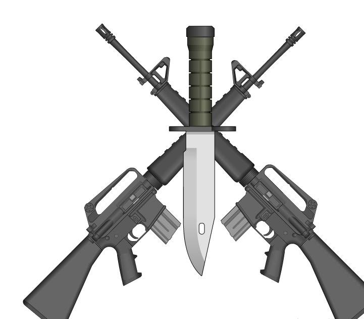 Sniper clipart crossed rifle Zone Crossed Cliparts Cliparts Clipart