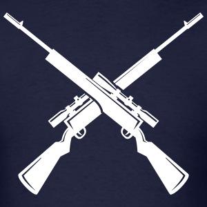 Sniper clipart crossed rifle T Rifles T Crossed Crossed