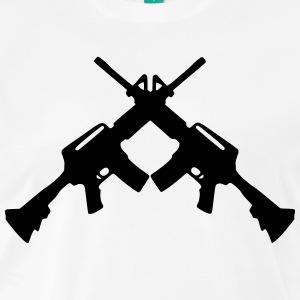 Sniper clipart crossed rifle Shop Shirt Shirts rifles T