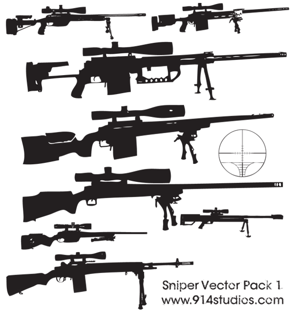 Snipers clipart deadly Sniper Pack Clip art Free