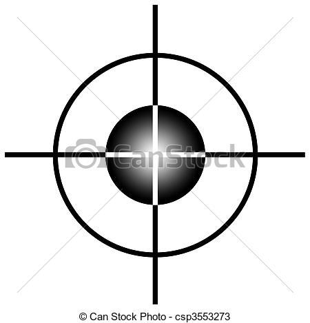 Target Sniper of target scope
