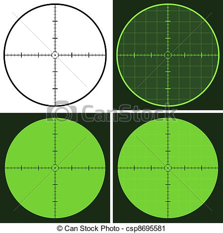 Snipers clipart gun sight Sight collection Gun sight clipart