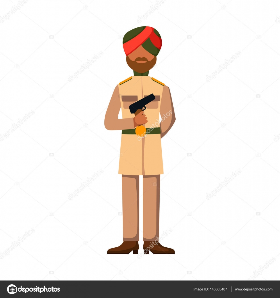 Snipers clipart indian soldier Soldier Military symbol man character