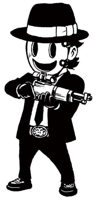 Sniper clipart masked Sniper Shinpan Tenkuu Mask