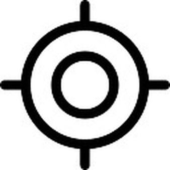 Sniper clipart shooting target Gun and Vectors Sniper Target