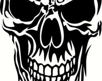 Snipers clipart skull Skull RZRSHARPVINYL Punisher 3 flag