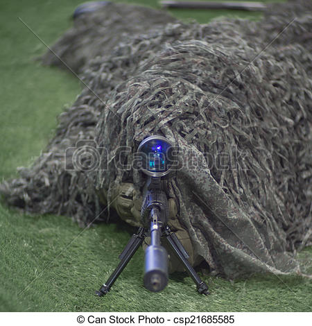 Sniper clipart solider  soldier of Sniper in