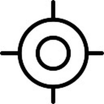 Sniper clipart target Target circular target Free Download
