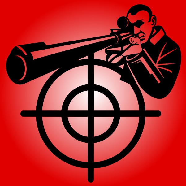 Sniper clipart target With Download 601x601px download Vector
