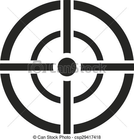 Sniper clipart target Target Clip Crosshair Crosshair sight