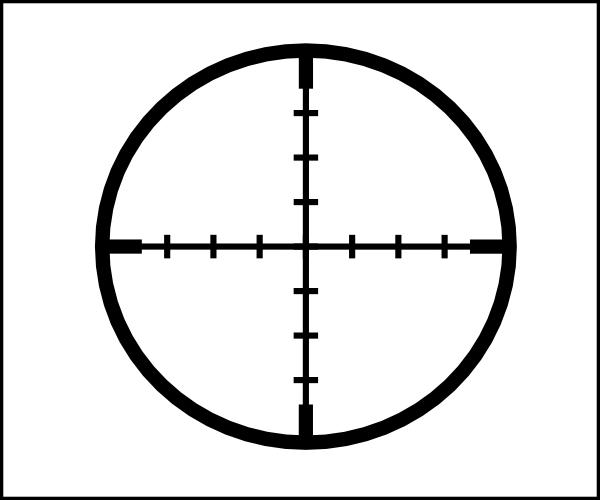 Snipers clipart transparent Crosshair Art Art Cliparts Art