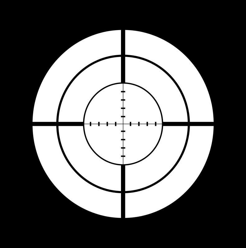 Snipers clipart transparent Art Download Sniper Clip Crosshairs