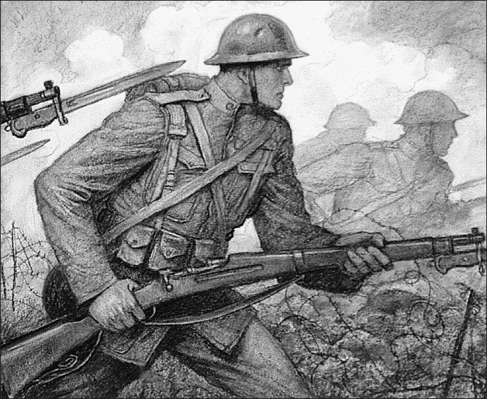 Soldiers clipart wwi soldier Download Ww1 Clip WWI Scene