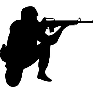 Sniper clipart ww1 soldier Clip Soldier Aiming art usa