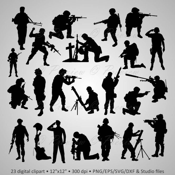 Soldiers clipart army commander Army Digital images veteran sniper