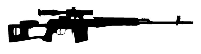 Snipers clipart Art Scope Guns With Art