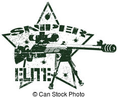 Snipers clipart Vector clip elite stamp Images