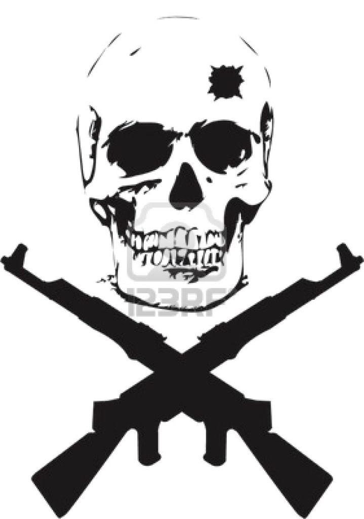 Snipers clipart skull  sniper counter scope