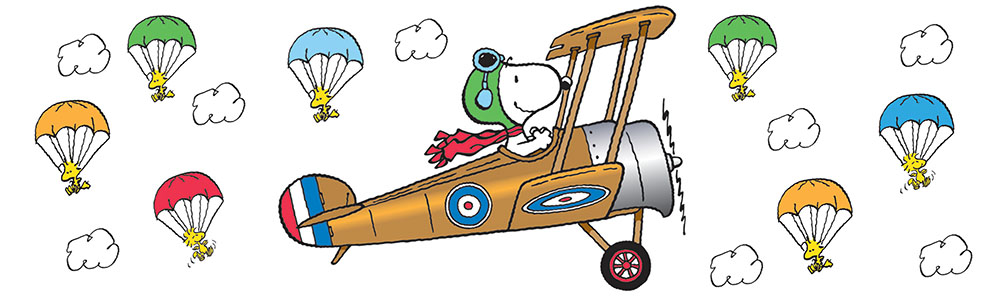Snoopy clipart airplane Bulletin Giant Peanuts® Flying Peanuts