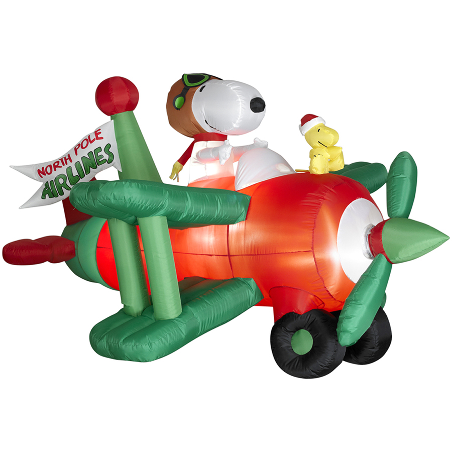 Snoopy clipart airplane Inflatable Snoopy Living Holiday 3