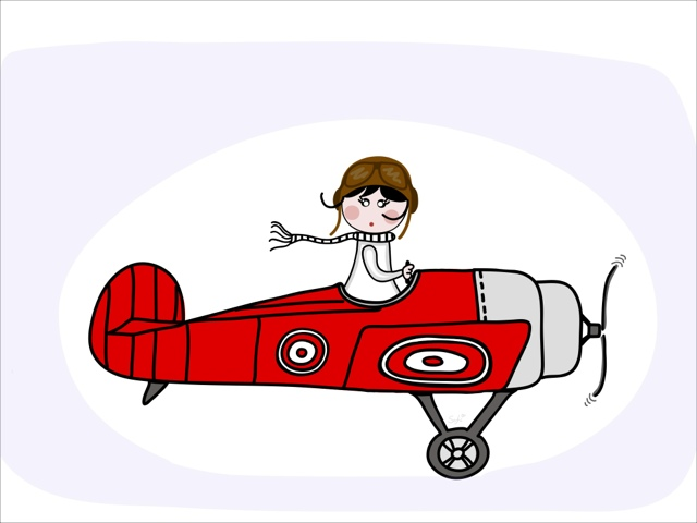 Snoopy clipart airplane Sofi's Lady Red snoopy World