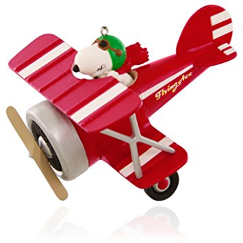 Snoopy clipart airplane Ace Keepsake Hallmark Ornament: Plane