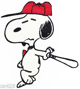 Snoopy clipart baseball Pinterest 385 on Search Google